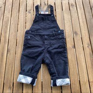 Overalls 9 / 12 months Burberry dark blue